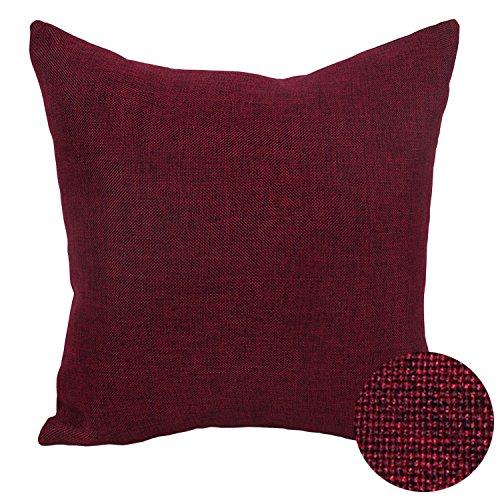Burgundy Cushions Amazoncouk