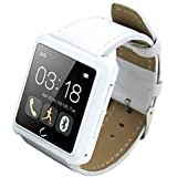 Smartwatch U10 WiFi Bluetooth compatible impermeable deporte llamada Smart Watch recordó sistema IOS/Android , white