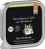 defu feine Happen in Gelee Bio-Hofhuhn, 16er Pack (16 x 100 g)