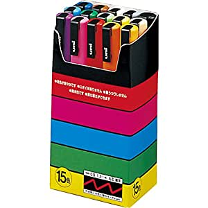 Uni-Ball uni POSCA PC-3M, 15 pcs