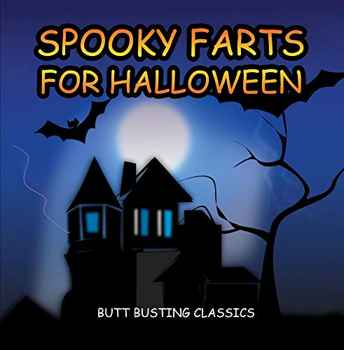 Spooky Farts for Halloween (Big farts with scary Halloween sounds) CD