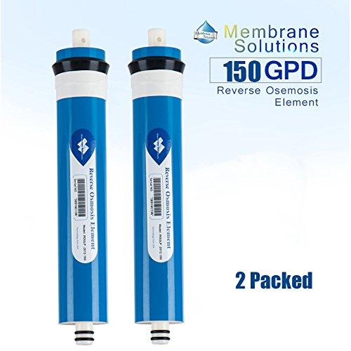 Filtro de membrana ósmosis inversa 150 GPD 2012, 2 unidades