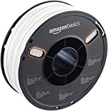 AmazonBasics Filament ABS pour imprimante 3D 1,75 mm, Blanc, Bobine 1 kg