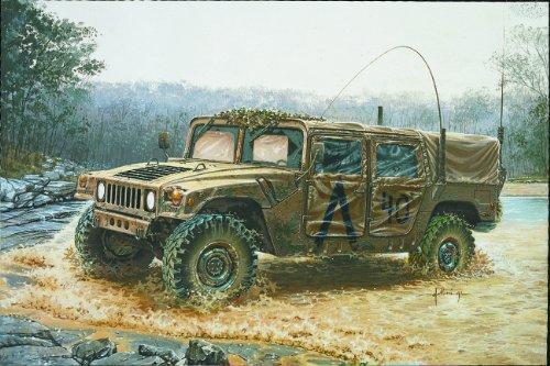 Italeri 0273 - m998 command vehicle model kit  scala 1:35