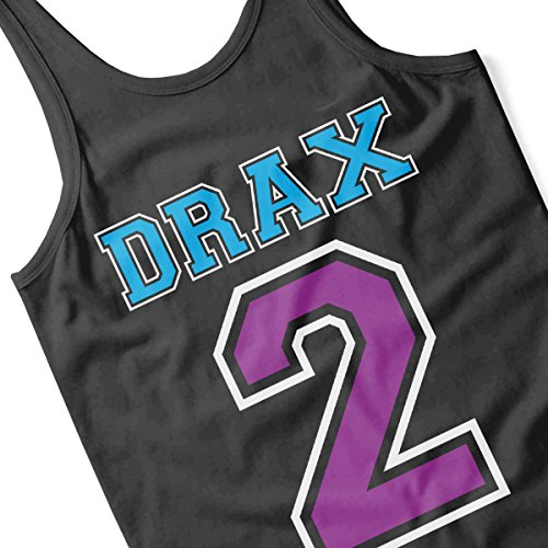 Drax 2 Guardians of the Galaxy Men's Vest Black