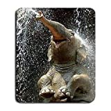 (Mauspad-Gaming-Mauspad A042) X Elefant glücklich Großes Mousepad Mauspad Große Geschenkidee