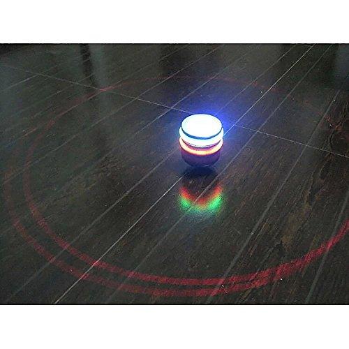 VANKER Música retro clásico de luz del flash de colores LED Gyro PEG-principio de los niños y regalos de juguetes para niños