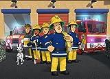 Feuerwehrmann Sam Tapete Aufkleber Kids Schlafzimmer Jungen M?dchen Art Wand Wandbild Tapete Gr??e L