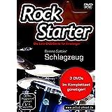 Rockstarter, Schlagzeug, 3 DVDs
