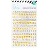 Best American Crafts Feuilles d'artisanat - American Crafts Heidi Swapp mémoire Planning Alphabet Stickers Review