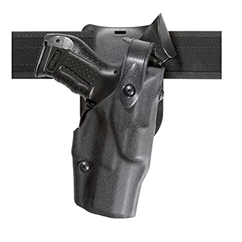 Safariland 6365 Level 3 Retention ALS Duty Holster, Low-Ride, Black, High Gloss, Right Hand, Glock 17