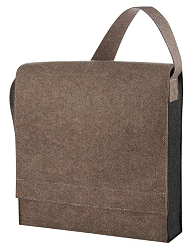 HALFAR® HF7788 Shoulder Bag Connectclassic Freizeittaschen Einkaufstaschen Tasche Braun