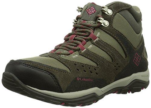 Columbia Peakfreak Xcrsn Mid Outdry, Chaussures de randonnée tige haute femme Marron