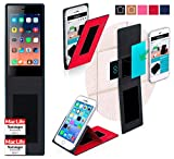 Siswoo A4 Plus Chocolate Hülle Cover Case in Rot -