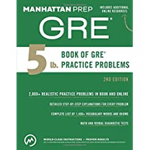 5 lb. Book of GRE Practice Problems.