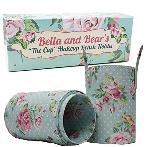 Brush Holder de maquillage par Bella and Bear. Notre porte pinceau de maquillage cup est un parfait compagnion pour vos pinceaux de maquillage et vos pinceaux individuels.