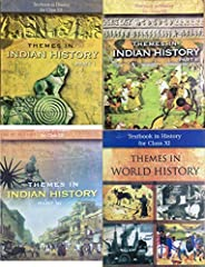 NCERT History Class 11,12 (1+3) Books Set English Medium
