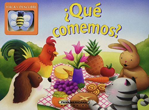 Que comemos?/What we eat? (Hala Y Descubre/Slide and See) por David Kinefield