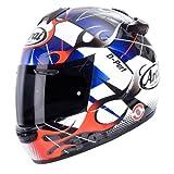 Neue ARAI chaser-v Legierung Motorrad Helm in blau/rot/weiß/schwarz