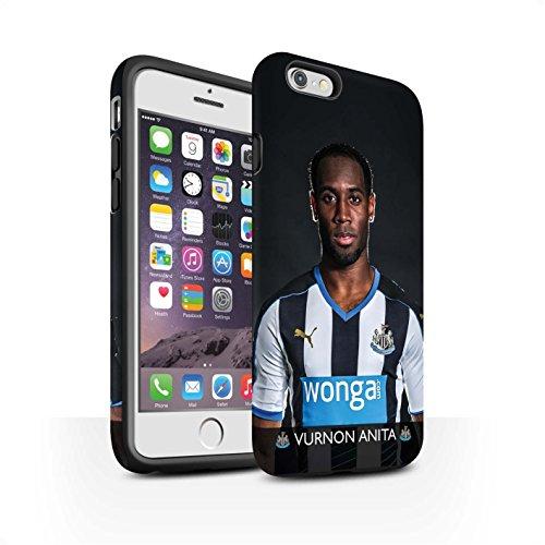 Officiel Newcastle United FC Coque / Matte Robuste Antichoc Etui pour Apple iPhone 6S / Shelvey Design / NUFC Joueur Football 15/16 Collection Anita