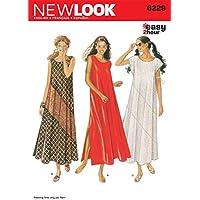 New Look - Cartamodello 6229 per vestiti da donna 0ec19a95fbd9