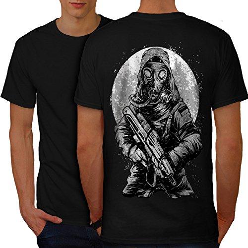 Horror Herren M T-shirt Zurück | Wellcoda (Hai Kostüm Essen)