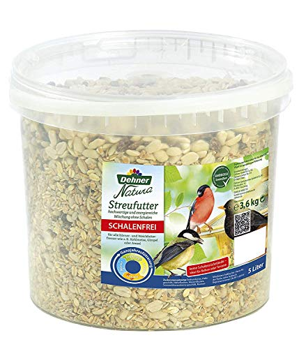 Dehner Natura schalenfreies Streufutter, 3.6 kg