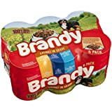 Brandy Dog Food Variety Chunks in Gravy 6x395g (Pack of 4, Total 24 Cans)