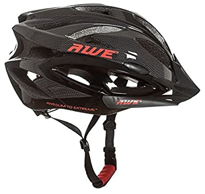 AWE® AWEAir™ FREE 5 YEAR CRASH REPLACEMENT* In Mould Adult Mens Cycling Helmet 58-61cm Black, Carbon from AWE®
