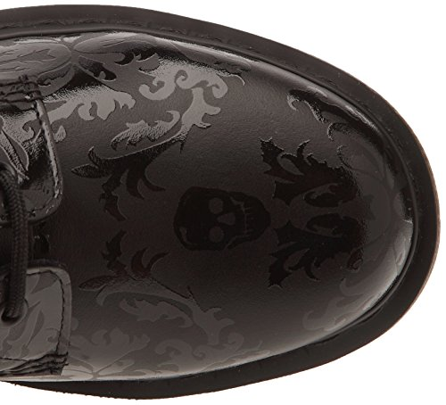 Dr. Martens CASSIDY Skull Print 14735601, Stivali fashion Donna Nero (Black Black))