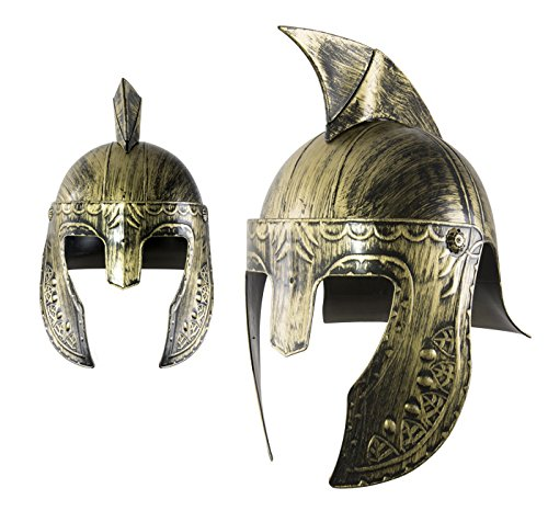 P 'tit Clown re31076 - -Helm Gladiator Gold und Schwarz