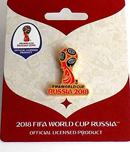 Pokal Cup World Pin (WM 2018 Pin Logo Pokal colour World Cup 2018 Pins)