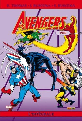 Intégrale Avengers T06 1969 par John Buscema, Roy Thomas, Sal Buscema, Collectif