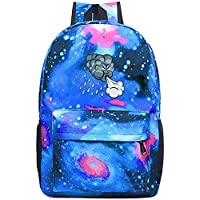 BagMothe Storm Cloud School Backpack Space Galaxy Book Bag Student Fashion Bags for Boys Girls Capacity 20-35 L