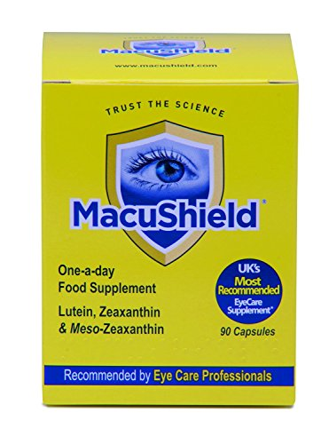 THREE PACKS of Macushield 90 Capsules Test