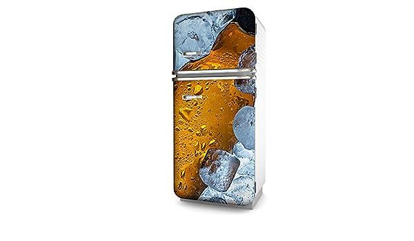 Kühlschrank Dekorfolie : Kühlschrank folie bier selbstklebend mehrere größen sticker