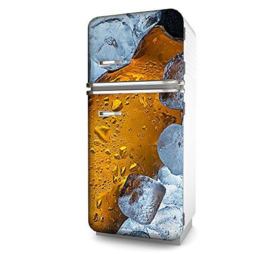 Kühlschrank-Folie Bier selbstklebend mehrere größen | Sticker-folie | Klebefolie | Kühlschrank-Aufkleber | Front-folie | Dekoration | Küche | Deko-folie | Möbel-folie | Vinyl-folie