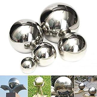 Esfera de la Bola del Espejo de la Bola de Acero Inoxidable Que mira la Bola de Oro Decorativa del Metal