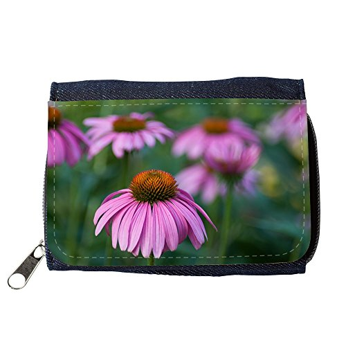 Cartera unisex // M00293208 Echinacea Fiore Herbal Garden // Purse Wallet
