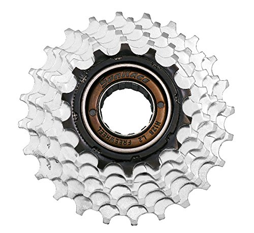 SUNRACE Ruota libera corsa 6 vel a filetto 14-24 acciaio (Cassette Strada) / Freewheel road (Steel Road Ruote)