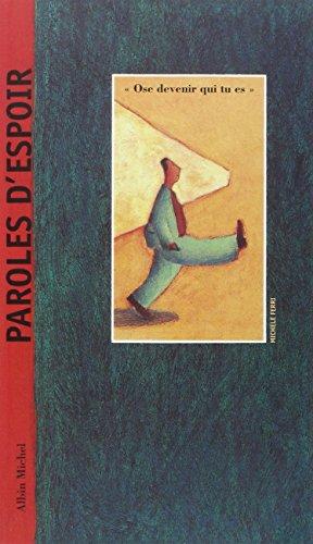 Paroles D'Espoir (Collections Litterature)
