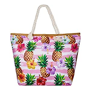 SenPuSi Beach Bag Summer Canvas