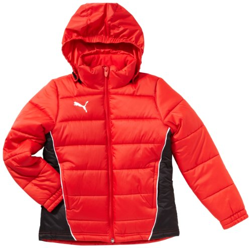 PUMA Herren Jacke Padded Jacket puma red-black