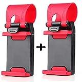 Mobilegear Car Steering Mobile Holder - Money Saver Pack of 2 Pieces