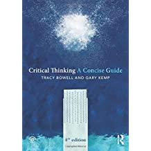 Critical Thinking (Concise Guides)