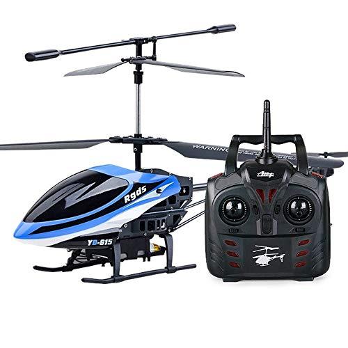 Kikioo Mini-Widerstand gegen fallende Funksteuerung Hubschrauber 3.5 Kanal Eingebauter Kreisel Flugzeug Drohne Spielzeug RC Hobby Flugzeuge Stabil Leicht zu erlernen Gute Bedienung Junge Spielzeug Flu