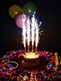 #7: BIRTHDAY CAKE SPARKLERS CANDLE 6pcs