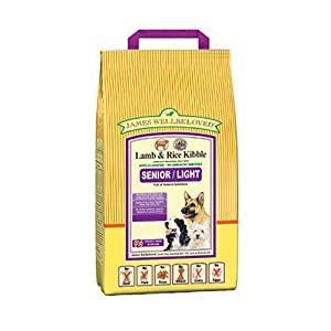 James Wellbeloved Dog Light Lamb and Rice Dry Mix 1.5 kg (Pack of 2) by Crown Pet Foods