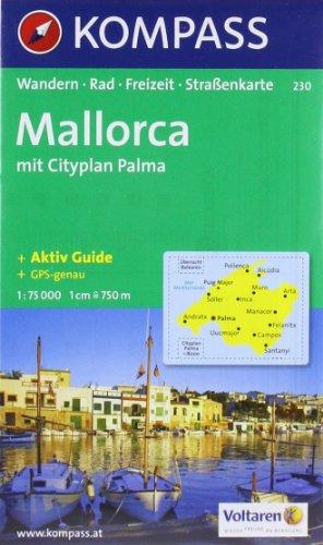 Mallorca 230 GPS kompass par Kompass-Karten