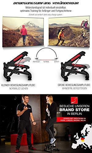 Sportstech 2in1 Twister Stepper mit Power Ropes – STX300 Drehstepper & Sidestepper für Anfänger & Fortgeschrittene - 2